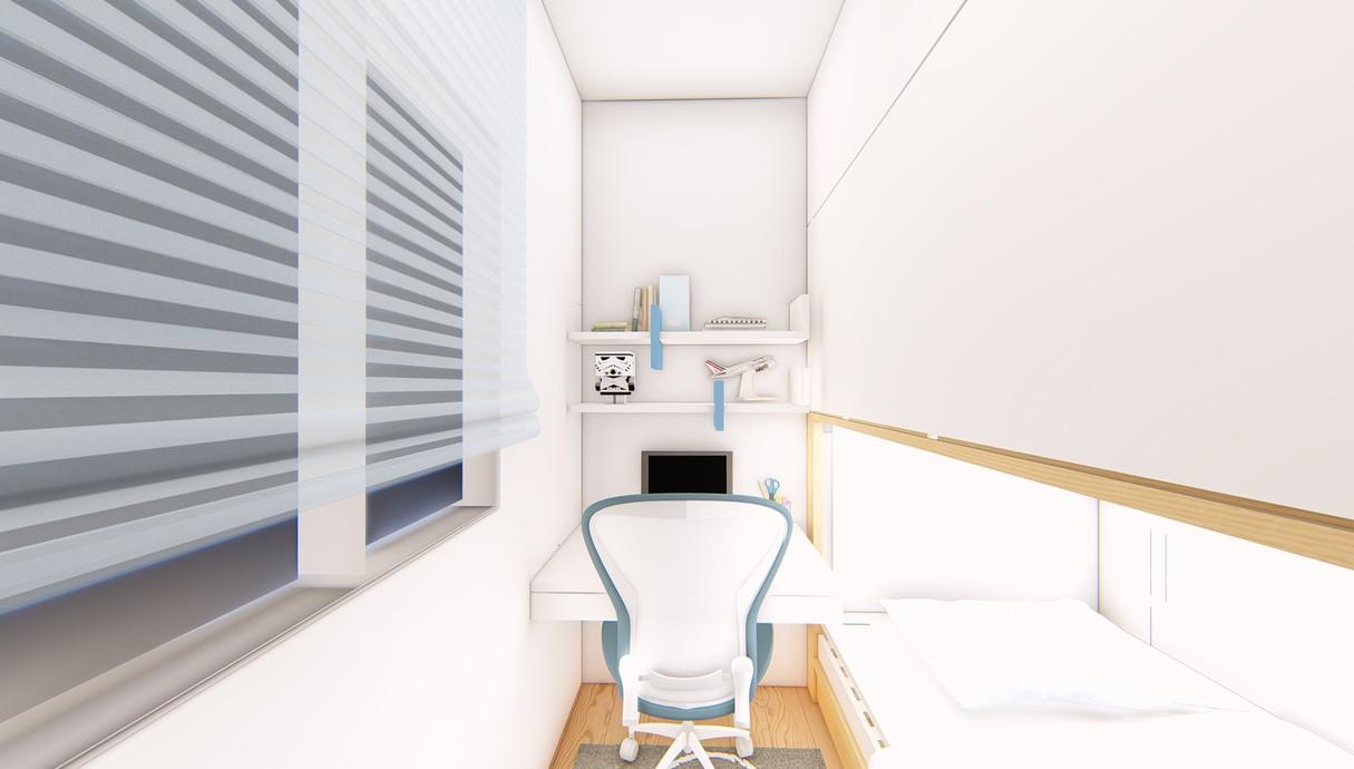 חדר ילדים, עיצוב יפעת מושקוביץ - 2