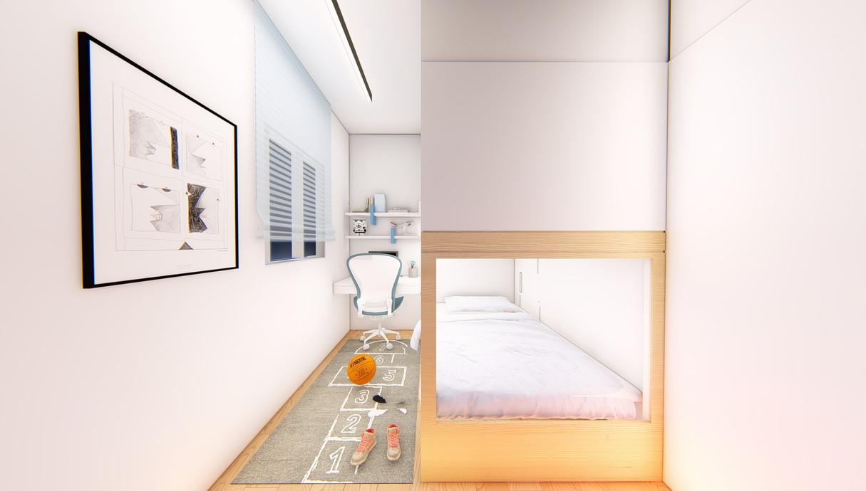 חדר ילדים, עיצוב יפעת מושקוביץ - 3