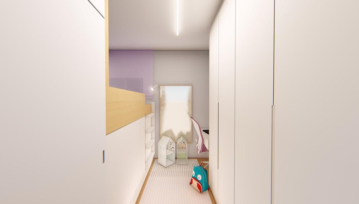חדר ילדים, עיצוב יפעת מושקוביץ - 4