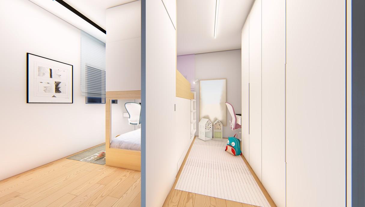 חדר ילדים, עיצוב יפעת מושקוביץ - 6