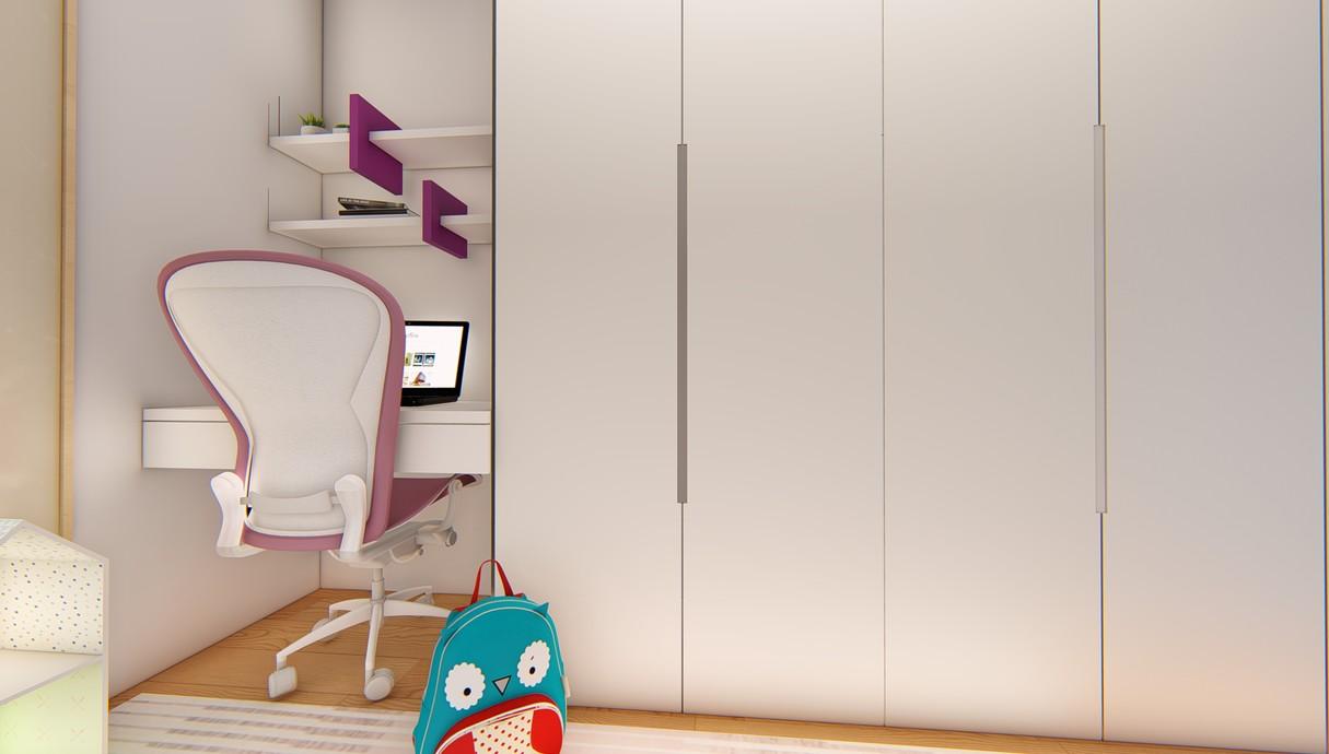 חדר ילדים, עיצוב יפעת מושקוביץ - 7