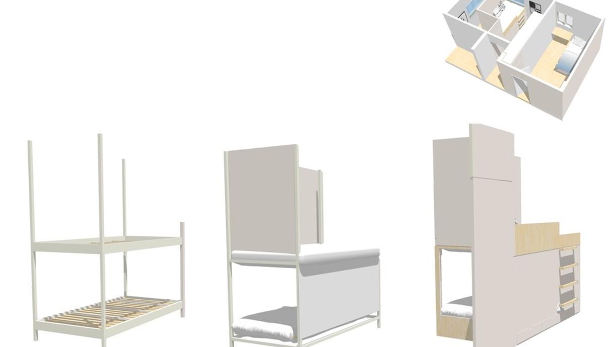 חדר ילדים, עיצוב יפעת מושקוביץ - 1