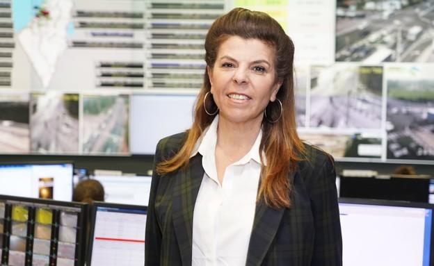 עינת דהן, מנהלת מערך השירות בחברת נתיבי ישראל