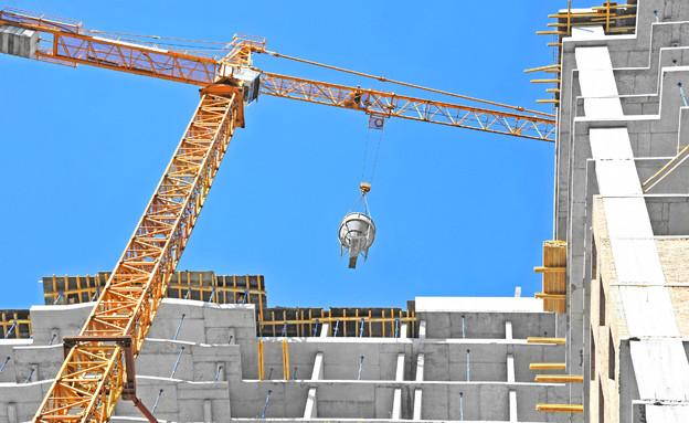 מנוף, בנייה, נדלן, עגורן (צילום: 123RF, חדשות)