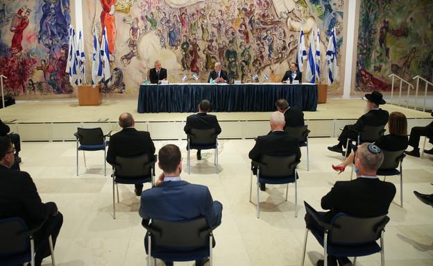 השבעת הממשלה ה-35 (צילום: אלכס קולומויסקי, פלאש 90)