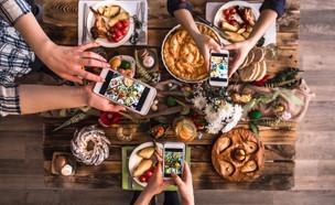ארוחת ערב משפחתית (צילום: צילום מסך מתוך ווטסאפ)