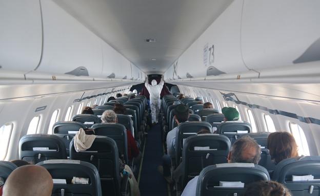 טיסה לאיטליה (צילום: אילן ארנון)