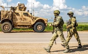 צבאות זרים בסוריה (צילום: DELIL SOULEIMAN/AFP via Getty Images)