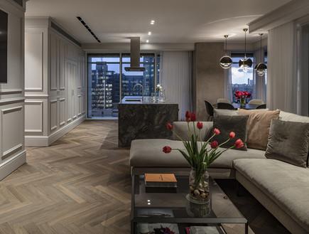 דירה בתל אביב, עיצוב יניב פרדו אדריכלים - 5 (צילום: עמית גרון)
