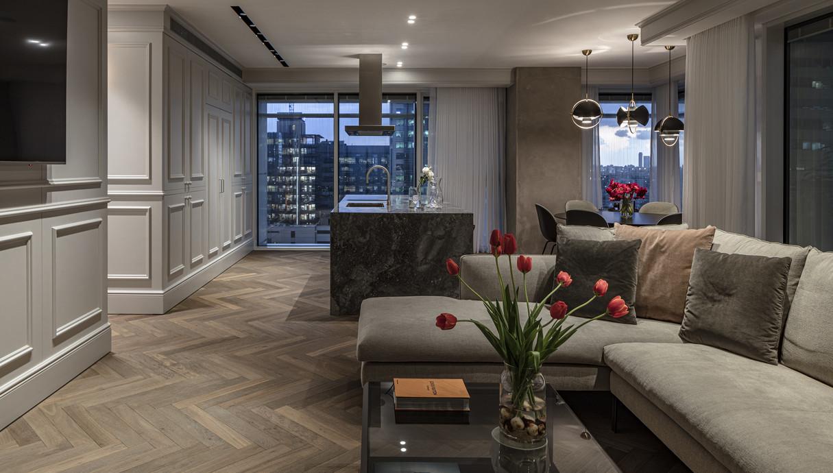 דירה בתל אביב, עיצוב יניב פרדו אדריכלים - 5
