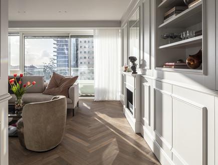 דירה בתל אביב, עיצוב יניב פרדו אדריכלים - 7 (צילום: עמית גרון)