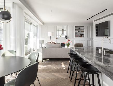 דירה בתל אביב, עיצוב יניב פרדו אדריכלים - 11 (צילום: עמית גרון)