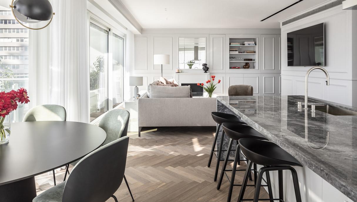 דירה בתל אביב, עיצוב יניב פרדו אדריכלים - 11