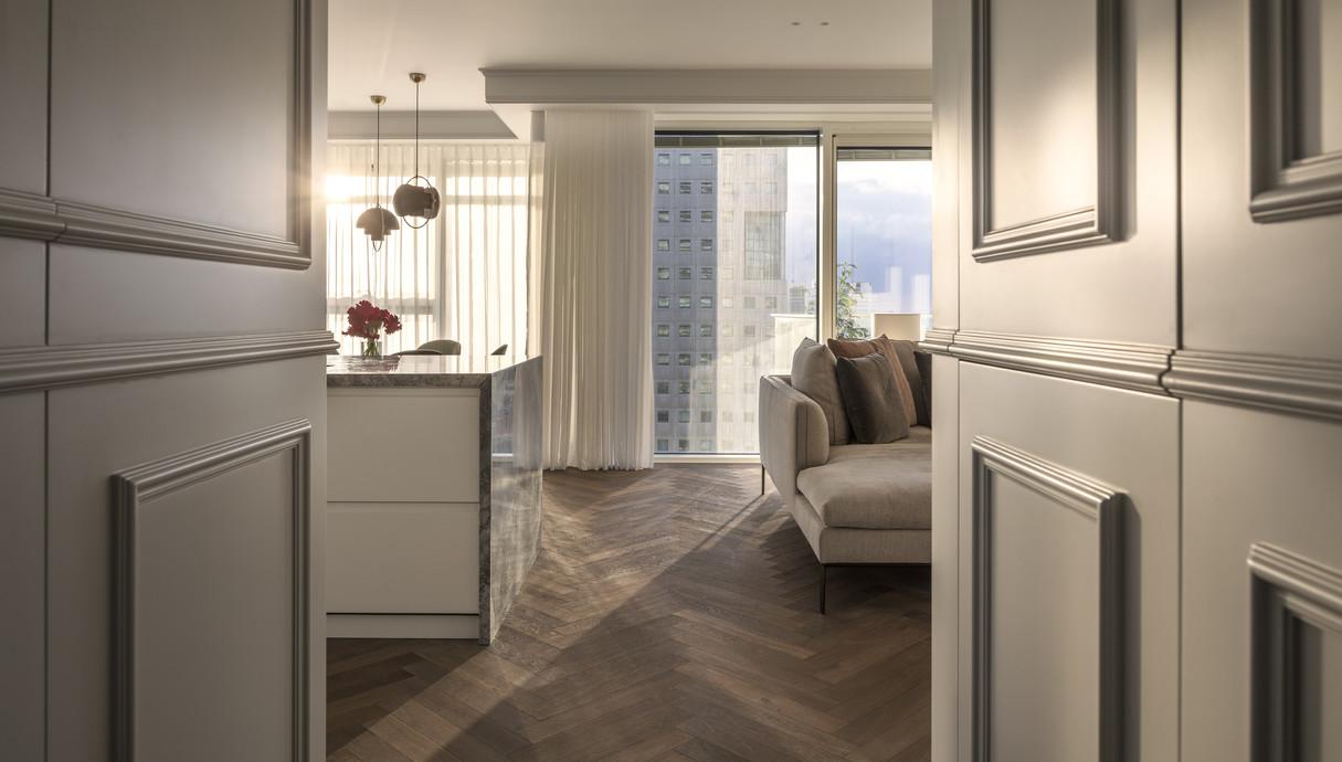 דירה בתל אביב, עיצוב יניב פרדו אדריכלים - 1