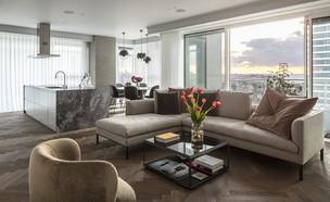 דירה בתל אביב, עיצוב יניב פרדו אדריכלים - 2 (צילום: עמית גרון)