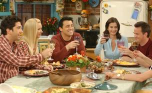 """חג ההודיה, מתוך """"חברים"""" (צילום: Warner Bros. Television Distribution)"""
