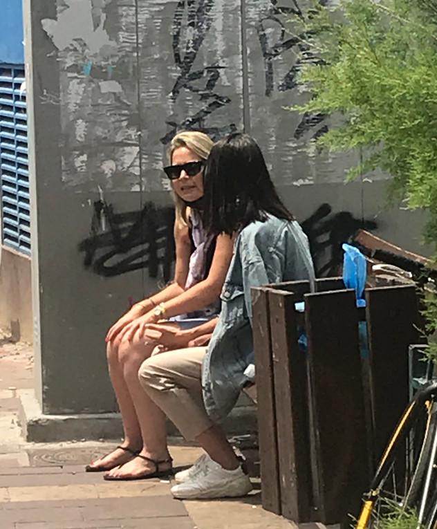 שרונה מרלין ושירי קופפרברג, מאי 2020