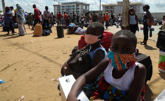 הקורונה באפריקה (צילום: רויטרס)