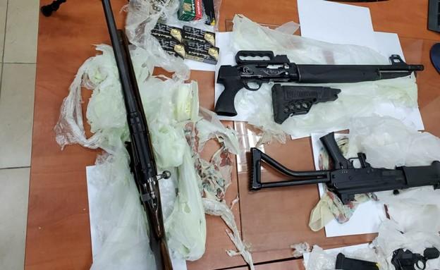 התחמושת שנתפסה על ידי כוחות צה