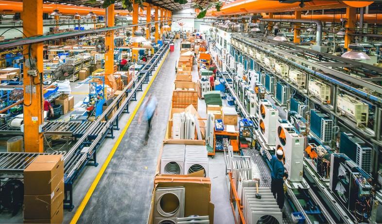 מפעל ייצור המזגנים של אלקטרה בראשון לציון (צילום: גיא לוי, יחסי ציבור)
