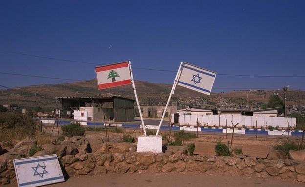 """גבול ישראל-לבנון, 1994 (צילום: סער יעקב, לע""""מ)"""
