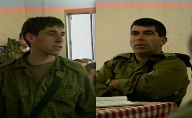 חייל מתעמת עם מפקד פיקוד הצפון גבי אשכנזי