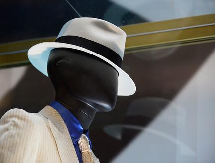 כובע פדורה של מייקל ג'קסון (צילום: Bryan Steffy Getty Images)
