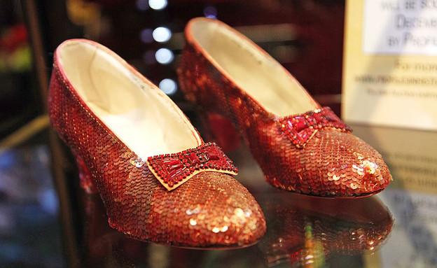 הנעליים של ג'ודי גרלנד