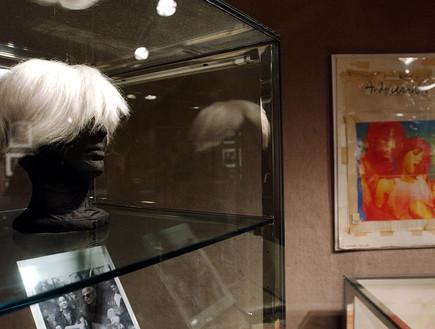 הפאה של אנדי וורהול (צילום: Ramin TalaieCorbis via Getty Images)