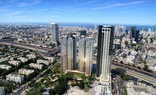 מגדלי אפרהאוס תל אביב (צילום: גינדי החזקות)