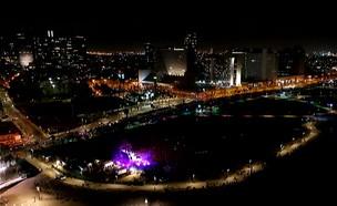 הופעה ראשונה בישראל (צילום: החדשות 12)