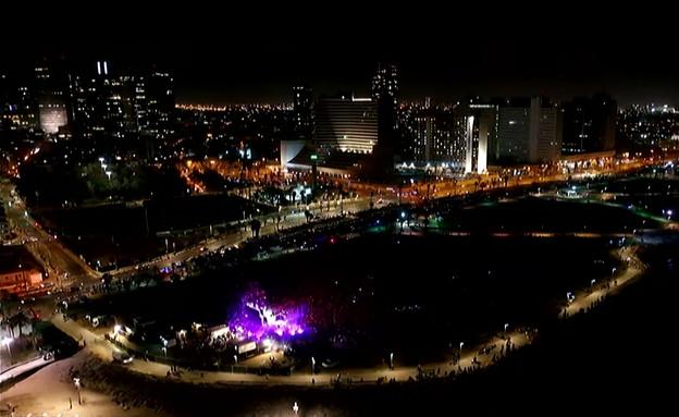 הופעה ראשונה בישראל (צילום:  none, החדשות 12)
