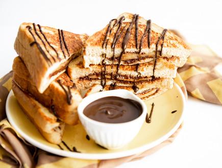 פרנץ' טוסט שוקולד בננה