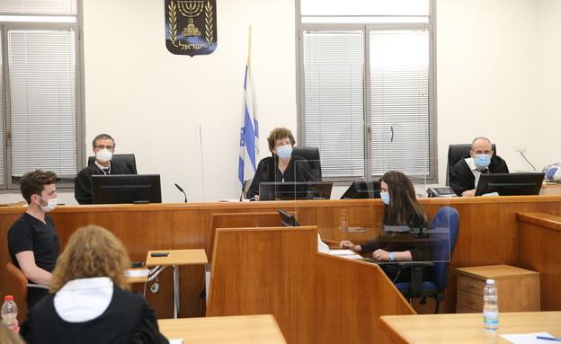 משפט נתניהו (צילום: עמית שאבי, פלאש 90)