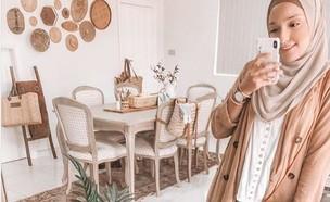 הבית המתוקתק של הבלוגרית שרה יוסף (צילום: אינסטגרם sara_why)