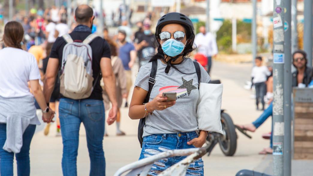 קורונה בישראל (צילום: S. Edelweiss / Shutterstock.com)