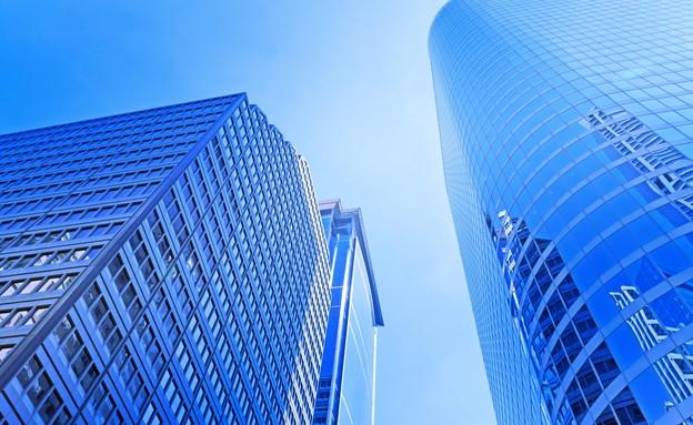 בניין משרדים (צילום: 123RF)