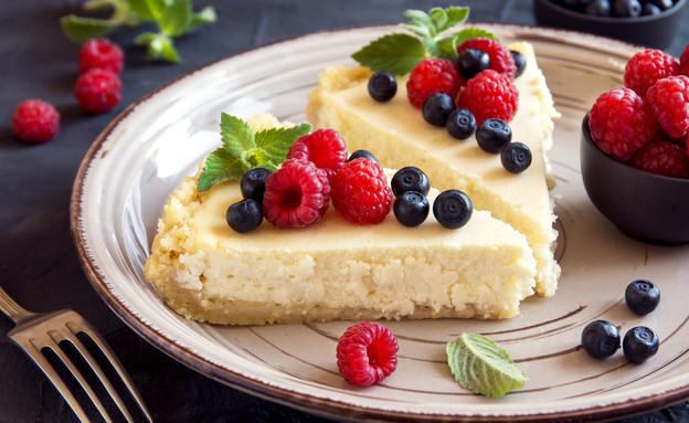 עוגת גבינה עם פירות יער (צילום: צילום מסך מתוך ווטסאפ)