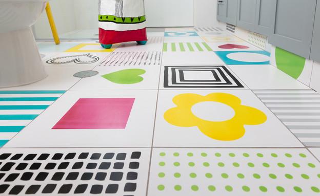 חדרי רחצה צבעוניים, 2 עיצוב רונה קינן פיש