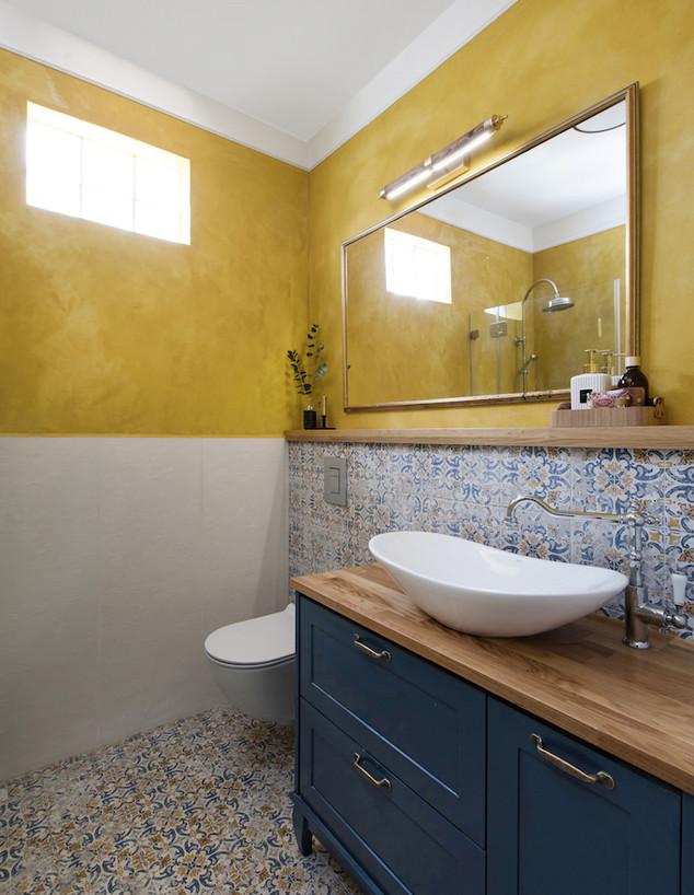 חדרי רחצה צבעוניים, ג, 9 עיצוב קרן בר סטודיו Karen B2