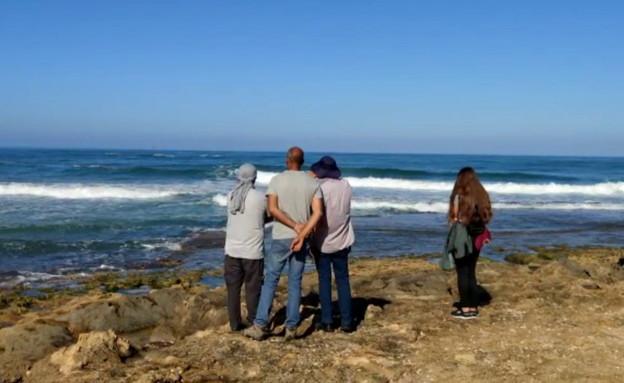חיפושים אחר האומן איימן ספייה שנעלם בים מול חוף עת