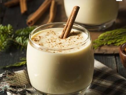 פונץ' חלב (צילום: shutterstock)
