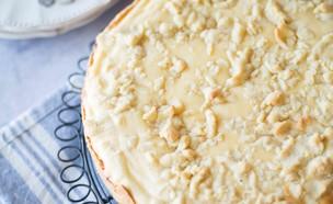 פאי גבינה לימון פירורים  (צילום: קרן אגם, אוכל טוב)