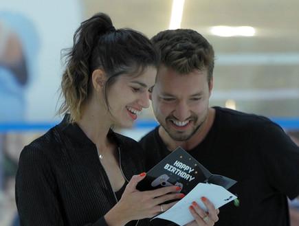 בדקנו: האם דניס והדר טסו יחד לטיול במדריד?