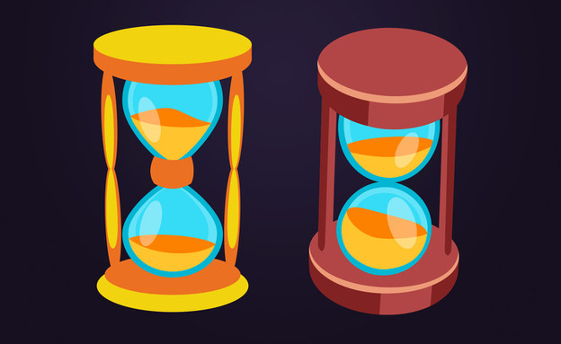 חידת שעוני החול (איור: Brightside.me )