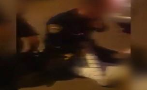 מעצר אלים (צילום: דיווחים בזמן אמת)