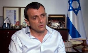 """שי באב""""ד מנכ""""ל משרד האוצר בראיון עם קרן מרציאנו (צילום: N12)"""