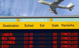 ביטול טיסה  (צילום: shutterstock  Protasov AN)
