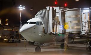 """מטוס בנתב""""ג (צילום:  Nataliya Pylayeva, shutterstock)"""