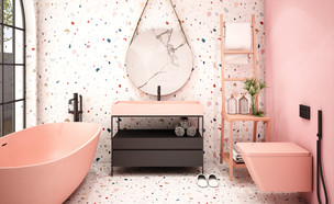 חדרי רחצה צבעוניים, oxfordone (צילום: shutterstock)